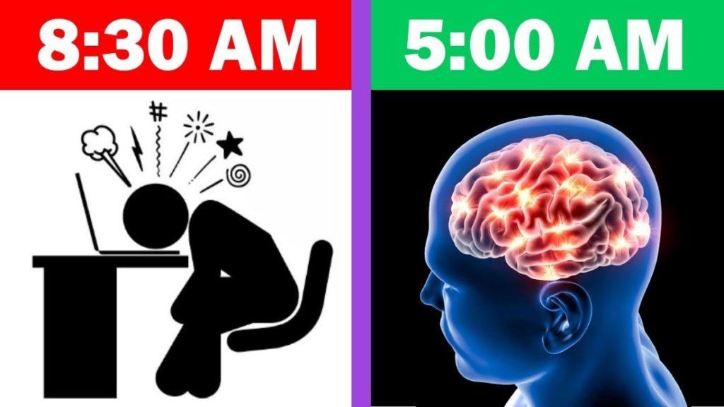 bangun pagi mencerdaskan otak