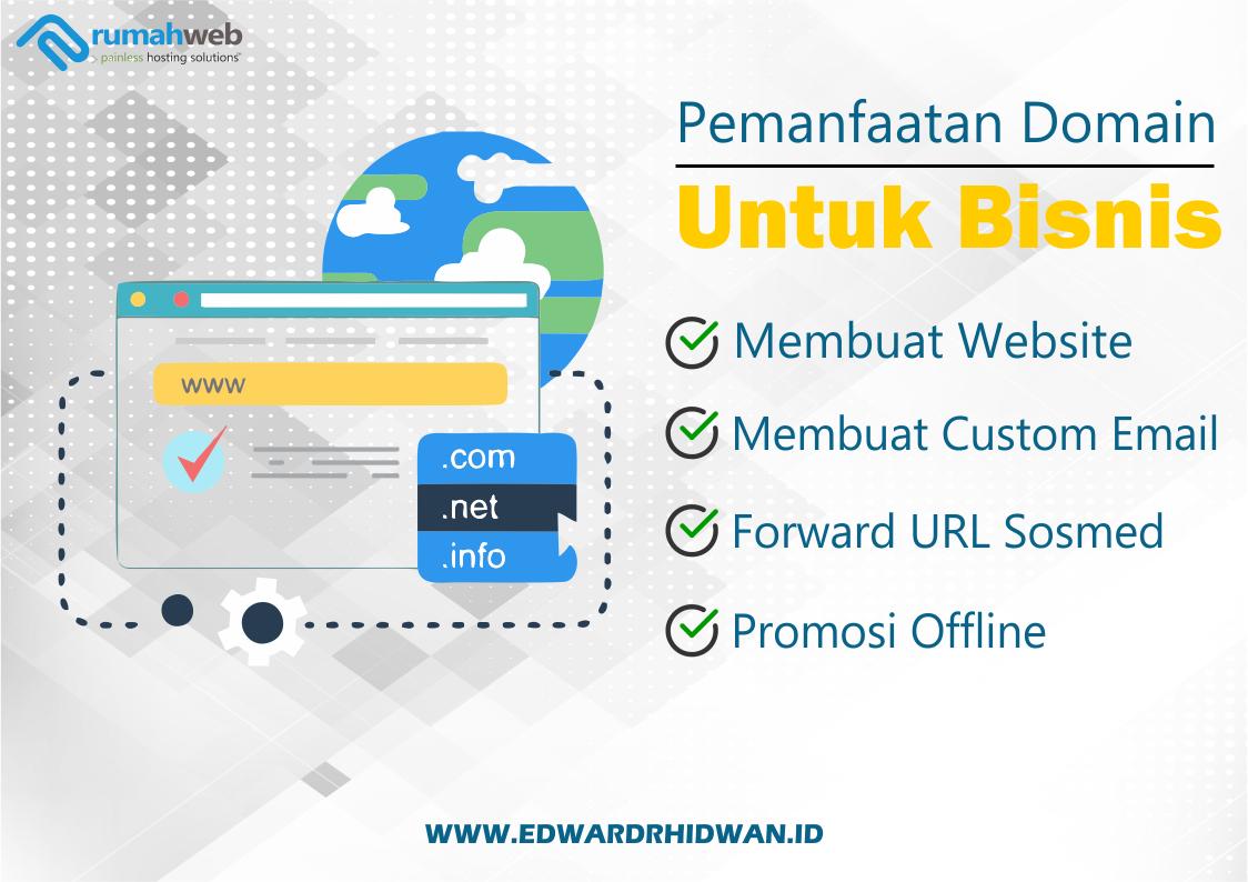 memanfaatkan nama domain untuk bisnis