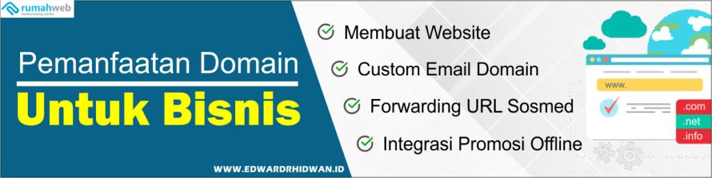 pemanfaatan domain untuk bisnis