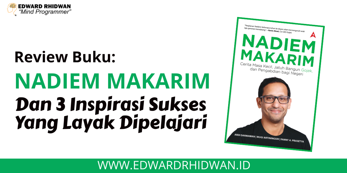 Review Buku Nadiem Makarim