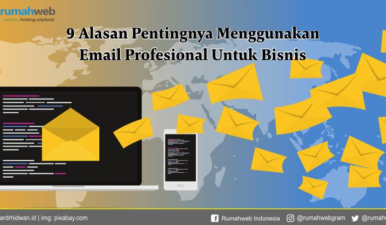 9 Alasan Menggunakan Email Profesional Untuk Bisnis 2