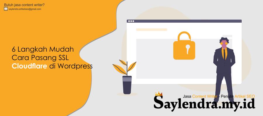 5 Langkah Mudah Pasang SSL Cloudflare di Blog Wordpress