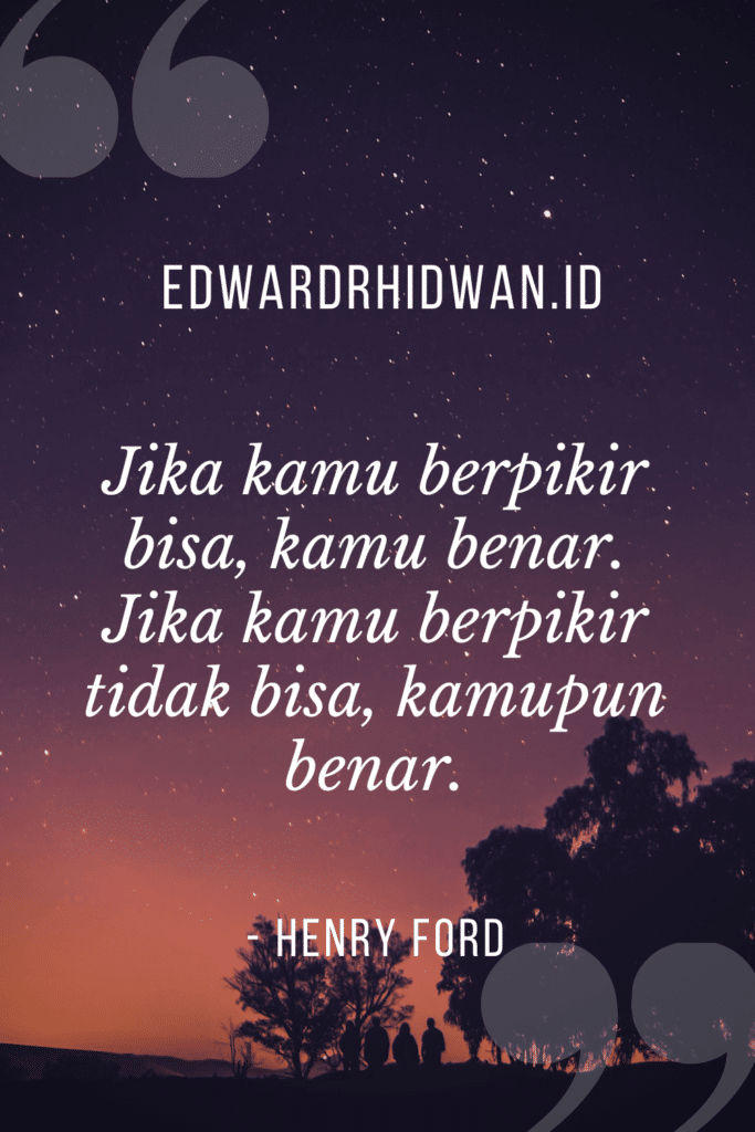 quotes percaya diri henry ford