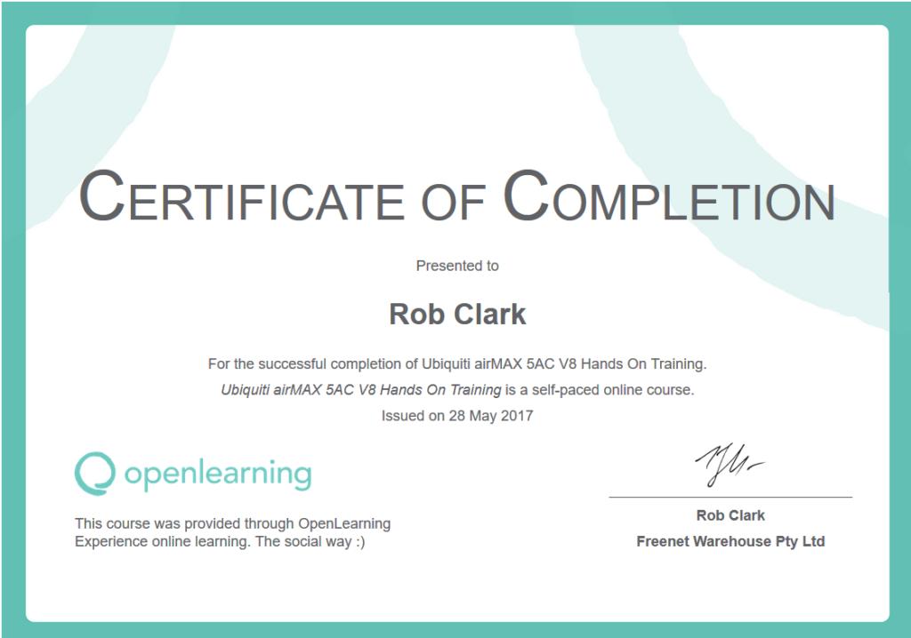contoh sertifikat internasional gratis openlearning